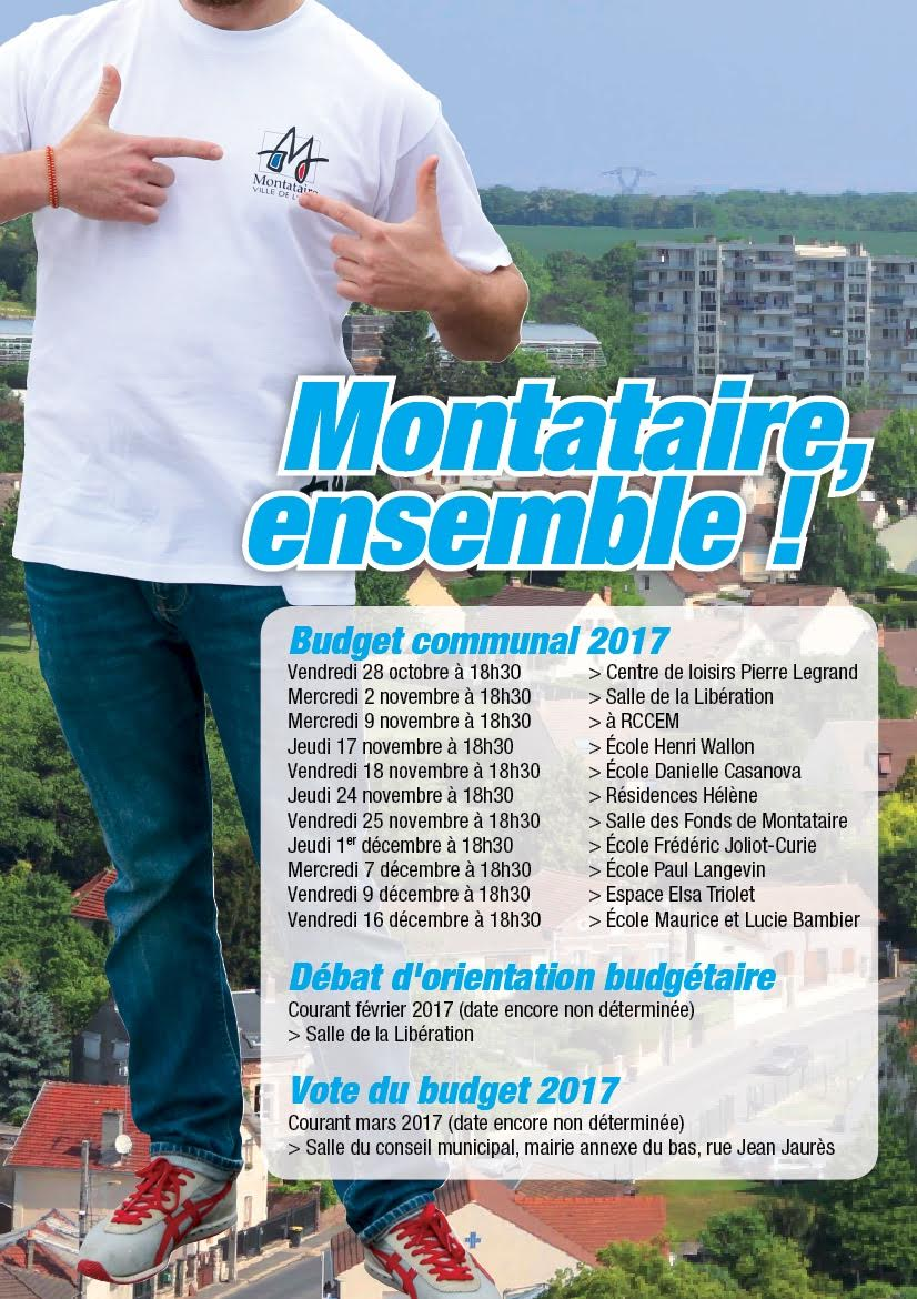 Budget  2017 montataire image